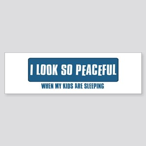 Funny Designs Sticker (Bumper)