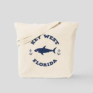 Sharking Key West Tote Bag