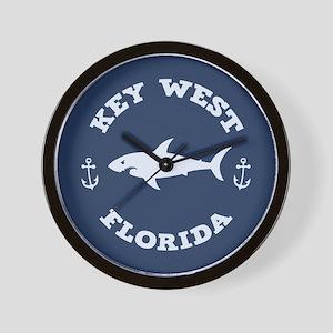 Sharking Key West Wall Clock