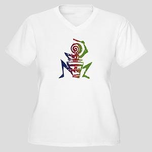 Drummer Women's Plus Size V-Neck T-Shirt
