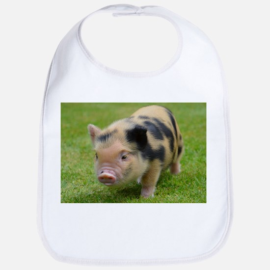Little Spotty micro pig Bib