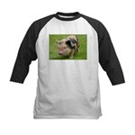 Little Spotty micro pig Baseball Jersey