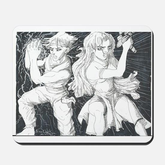 Original Manga Character Pose Mousepad