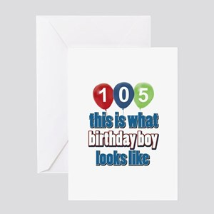 This is what 105 looks like Greeting Card