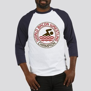 World Bacon Wrestling Champion Baseball Jersey