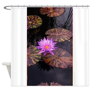 Lily Pad Shower Curtains