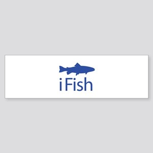 iFish Sticker (Bumper)