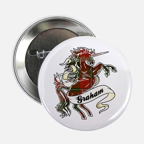 "Graham Unicorn 2.25"" Button"
