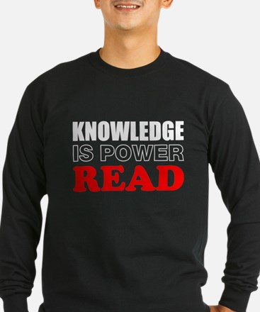 Knowledge Is Power Long Sleeve T-Shirt