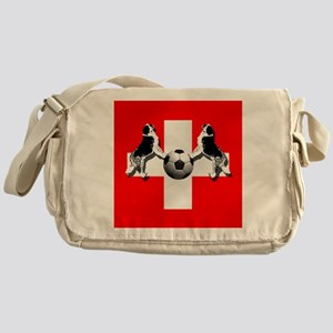Swiss Football Flag Messenger Bag