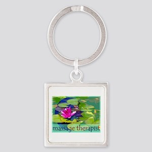 Massage Therapist / Waterlily Keychains