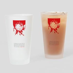 Meteor Survivor Drinking Glass