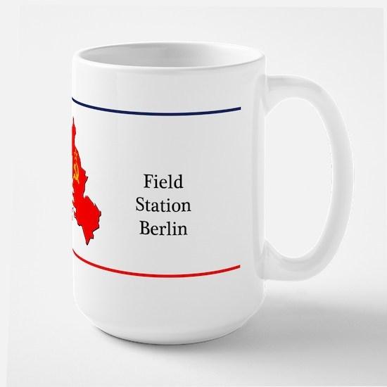 Field Station Berlin Large Coffee Mug