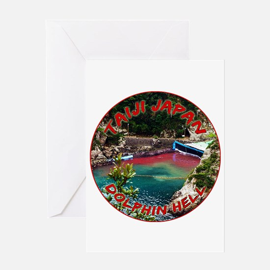 Dolphin Hell Greeting Card
