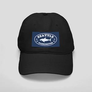 Sharking Seattle Black Cap