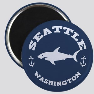 Sharking Seattle Magnet