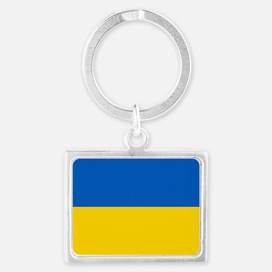 Flag of the Ukraine Keychains