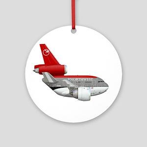 Northwest Airlines Ornament (Round)