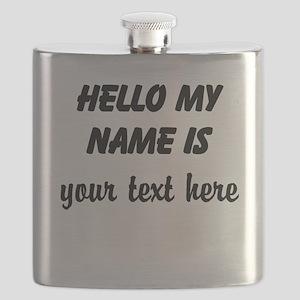 HELLO MY NAME IS ------- Flask