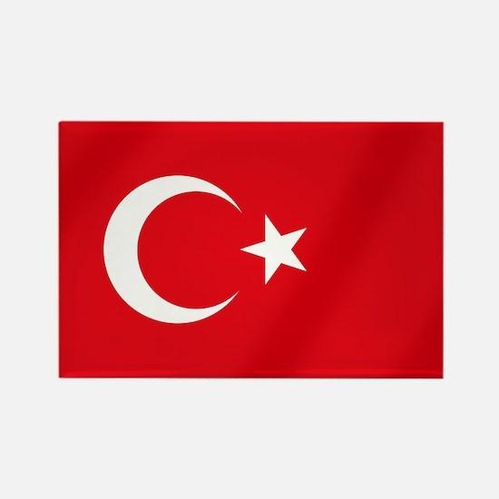 Flag of Turkey Rectangle Magnet