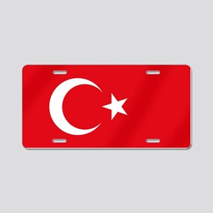 Flag of Turkey Aluminum License Plate