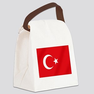 Flag of Turkey Canvas Lunch Bag