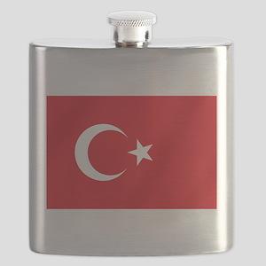 Flag of Turkey Flask