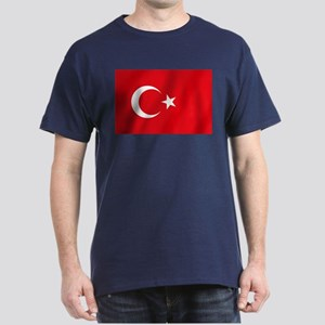 Flag of Turkey Dark T-Shirt