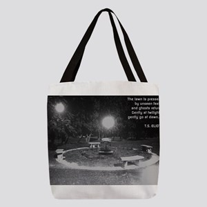 Ghosts In the Graveyard Polyester Tote Bag