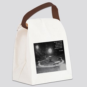 Ghosts In the Graveyard Canvas Lunch Bag