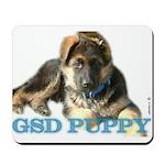 German shepherd puppys Mousepad