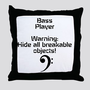 Bass player-hide all breakable objects Throw Pillo