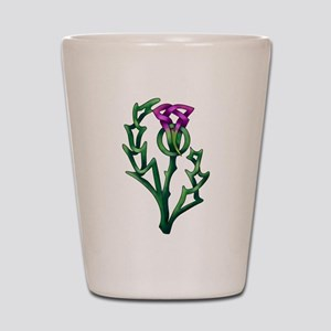 Thistle Shot Glass
