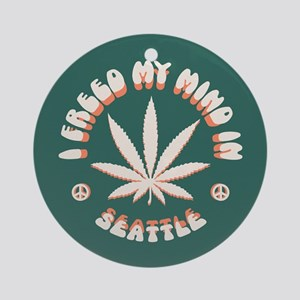 Seattle Freed Ornament (Round)