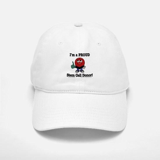 """""""Stem Cell Donor Pride"""" Baseball Baseball Cap"""