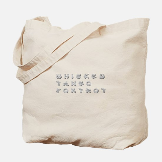 WTF-inner Tote Bag