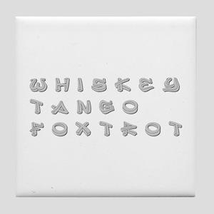 WTF-inner Tile Coaster