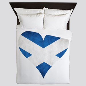 Scotland heart Queen Duvet