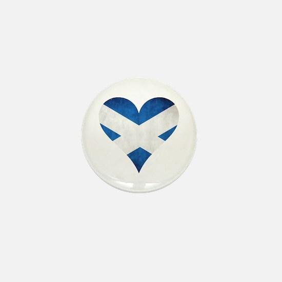 Scotland heart Mini Button