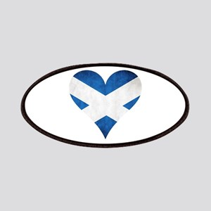 Scotland heart Patches