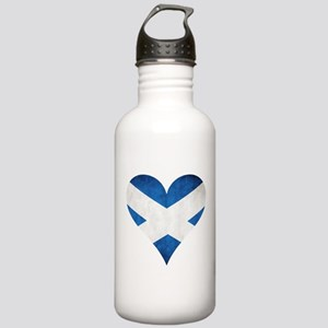 Scotland heart Water Bottle
