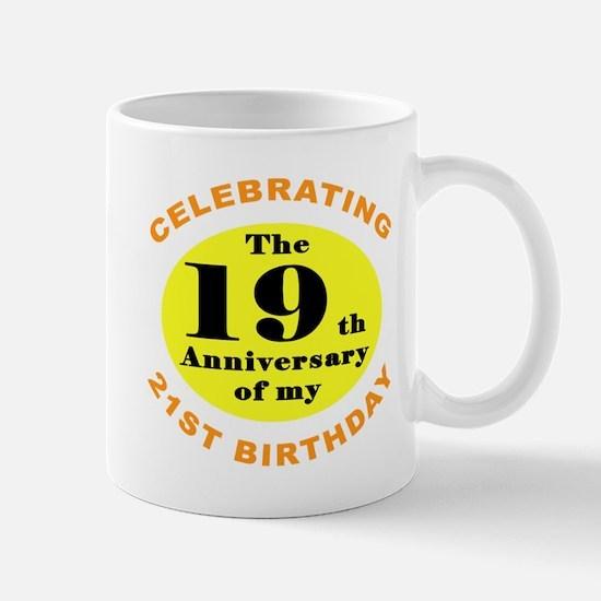 40th Birthday Humor Mug