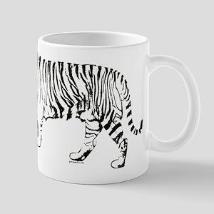 Tiger silhouette Mug