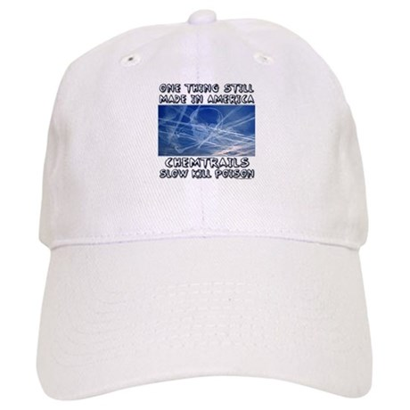 97a38e688cf Chemtrails - Still Made in America Baseball Baseball Cap by ...