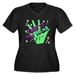 Talk To The Hand Plus Size T-Shirt