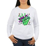 Talk To The Hand Long Sleeve T-Shirt