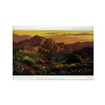 Arizona Desert Rectangle Magnet (10 pack)