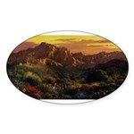 Arizona Desert Sticker (Oval)