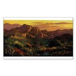 Arizona Desert Sticker (Rectangle 10 pk)