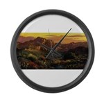 Arizona Desert Large Wall Clock